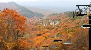 Take A Chairlift Through Stunning Fall Foliage When You Visit Massanutten Resort In Virginia This Fall
