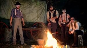 Board A Train, Explore A Spooky Trail, And More This Halloween Season At Wild West City In New Jersey