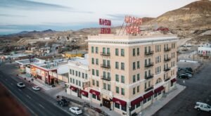 Tour A Haunted Hotel And Hang Out With Ghosts At The Historic Mizpah Hotel In Nevada
