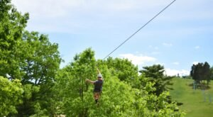 Fly At Speeds Of Up To 30 Miles Per Hour During This Zip Line Adventure Tour In Michigan