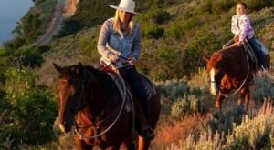 Take A Fall Foliage Trail Ride On Horseback At Rocky Mountain Outfitters In Utah