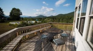 This Stunning New Hampshire AirBnB Comes With Its Own Private Deck And Patio For Taking In The Gorgeous Views