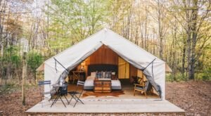 The Fields Of Michigan Offers A Glorious Glamping Experience That You Won't Soon Forget