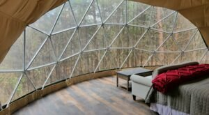 These Hocking Hill Geodomes Will Take Your Ohio Glamping Experience To A Whole New Level
