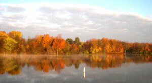 Spend The Perfect Autumn Afternoon In Ohio Surrounded By Fall Colors At Madison Lake State Park