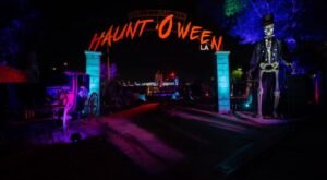 Get Spooky With A Visit To Haunt O' Ween, A 150,000 Square Foot Halloween Playground In Southern California
