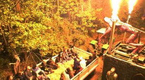 Take A Haunted Hayride In Indiana For A Spectacularly Spooky Night