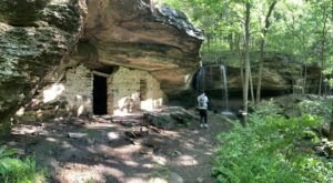 The Cave And Waterfall At The End Of The Moonshiners Cave Trail In Arkansas Are Truly Something To Marvel Over