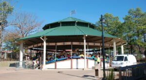 A Priceless Antique, The Arkansas Carousel Is The Only One Of Its Kind In The World