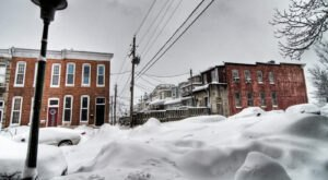 Prepare Yourself For Snow Storms This Winter In Maryland, According To The Farmers' Almanac