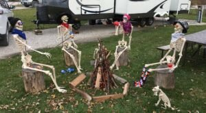 Campground Trick-Or-Treats In Iowa Are A Classic Fall Tradition
