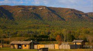 Take In The Incredible Fall Colors At Wilderness Road State Park, An Underrated Virginia Gem