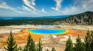 There's Nothing Quite As Magical As The Grand Prismatic Spring You'll Find At Yellowstone In Wyoming