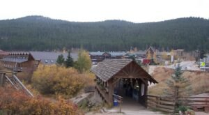 Walk Across The Middle Boulder Creek Covered Bridge For A Gorgeous View Of Colorado's Fall Colors