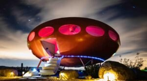 Sleep In A Flying Saucer At This Super Rare Glamping Destination In The Southern California Desert