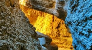 There's Nothing Quite As Magical As The Slot Canyon You'll Find At Anza-Borrego In Southern California
