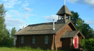St. Mark's Episcopal Church Is A Pretty Place Of Worship In Alaska