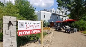 Sip Wine Underground At The Enchanting Hartwood Wine Cave Near Pittsburgh