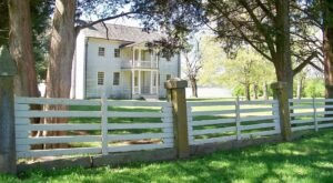Built In The 1700's, Historic Rock Castle Is The Oldest House In Middle Tennessee