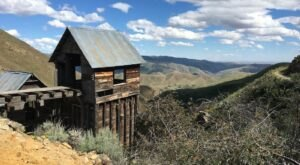 A Trail In Idaho Will Take You To The Original Adelmann Mine Ruins