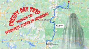 This Creepy Day Trip Through The Spookiest Places In Arkansas Is Perfect For Fall