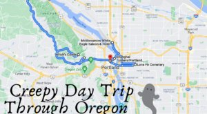 This Creepy Day Trip Through The Spookiest Places In Oregon Is Perfect For Fall