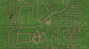 The Corn Maze At Escobar Farm In Rhode Island Is A Classic Fall Tradition