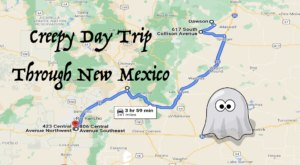 This Creepy Day Trip Through The Spookiest Places In New Mexico Is Perfect For Fall