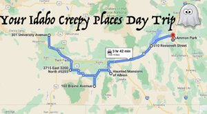 This Creepy Day Trip Through The Spookiest Places In Idaho Is Perfect For Fall