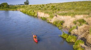Explore A New Side Of Omaha With Platte River Water Trail, A Special Kayak Trail In Nebraska
