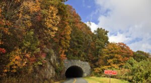 There's Nothing Quite As Magical As The Stone Face Tunnels You'll Find On The Blue Ridge Parkway In North Carolina