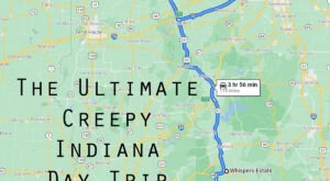This Creepy Day Trip Through The Spookiest Places In Indiana Is Perfect For Fall