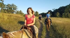 Take A Fall Foliage Trail Ride On Horseback At Wild 3L Ranch In Wisconsin