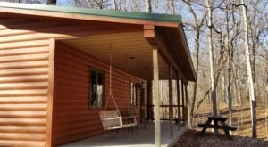 Kishauwau Cabins Is A Unique Dog-Friendly Destination In Illinois Perfect For An Outdoor Adventure