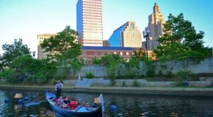 Take A Magical Ride Through The City Of Providence on An Authentic Venetian Gondola