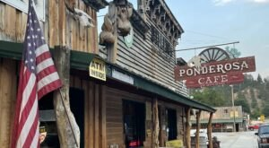 The Ponderosa Cafe Is A Wyoming Restaurant In The Middle Of Nowhere That Serves Delicious Homestyle Food