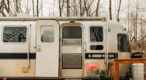 Stay The Night In A Vintage Airstream On A Working Virginia Farm For A Getaway You Won't Soon Forget