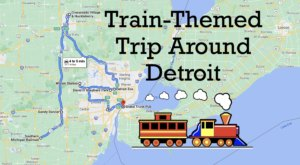This Dreamy Train-Themed Trip Around Detroit Will Take You On The Journey Of A Lifetime