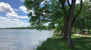 Gorgeous Views Of A Popular Northern Minnesota Lake Await At Diamond Point Park In Bemidji