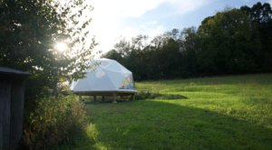 Spend The Night Stargazing In A Geodesic Dome In The Virginia Mountains