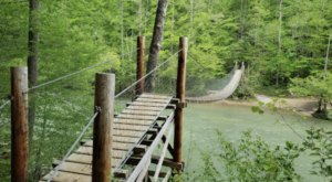 Spend The Day Exploring These Three Swinging Bridges In Kentucky