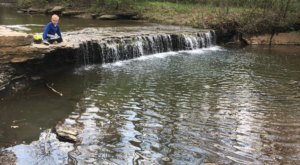 This Trail Leading To A Waterfall In Kansas Is Often Called A Hidden Gem
