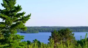 A Beautiful Hilltop Hideout, This Remote Cabin Overlooks A Stunning Northern Minnesota Lake