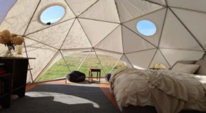 This Rustic Geodome Will Take Your Virginia Glamping Experience To A Whole New Level