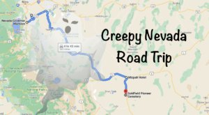 This Creepy Day Trip Through The Spookiest Places In Nevada Is Perfect For Fall