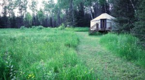 This North Shore Yurt Will Take Your Minnesota Glamping Experience To A Whole New Level