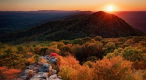 Take In 360-Degree Views Of Virginia's Fall Foliage From The Top Of Birch Knob Tower