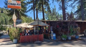Fill Up At The Iconic Burger Cafe That's Been In Lake Tahoe In Northern California Since The '60s