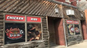 You Can't Go Wrong With Anything On The Menu From Gibson's Barnyard BBQ In Ohio