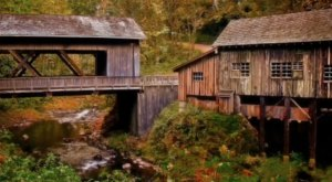 Here Is The Single Most Beautiful Washington Covered Bridge To Explore This Fall